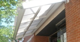 custom structural awning