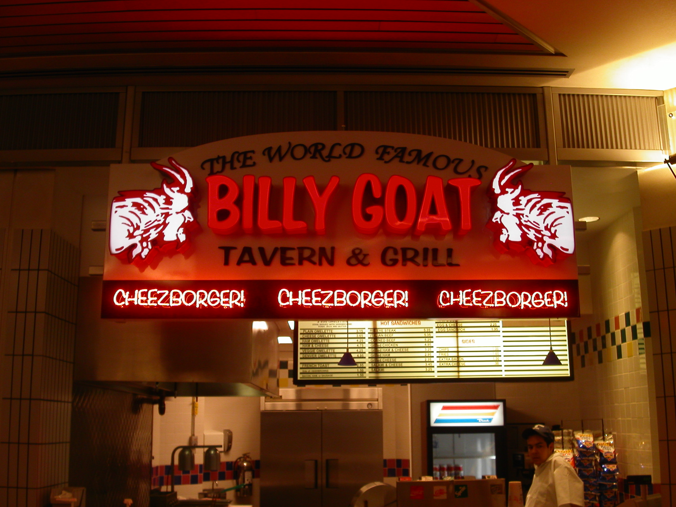 S3 March Client Spotlight Billy Goat Tavern Signs Signs