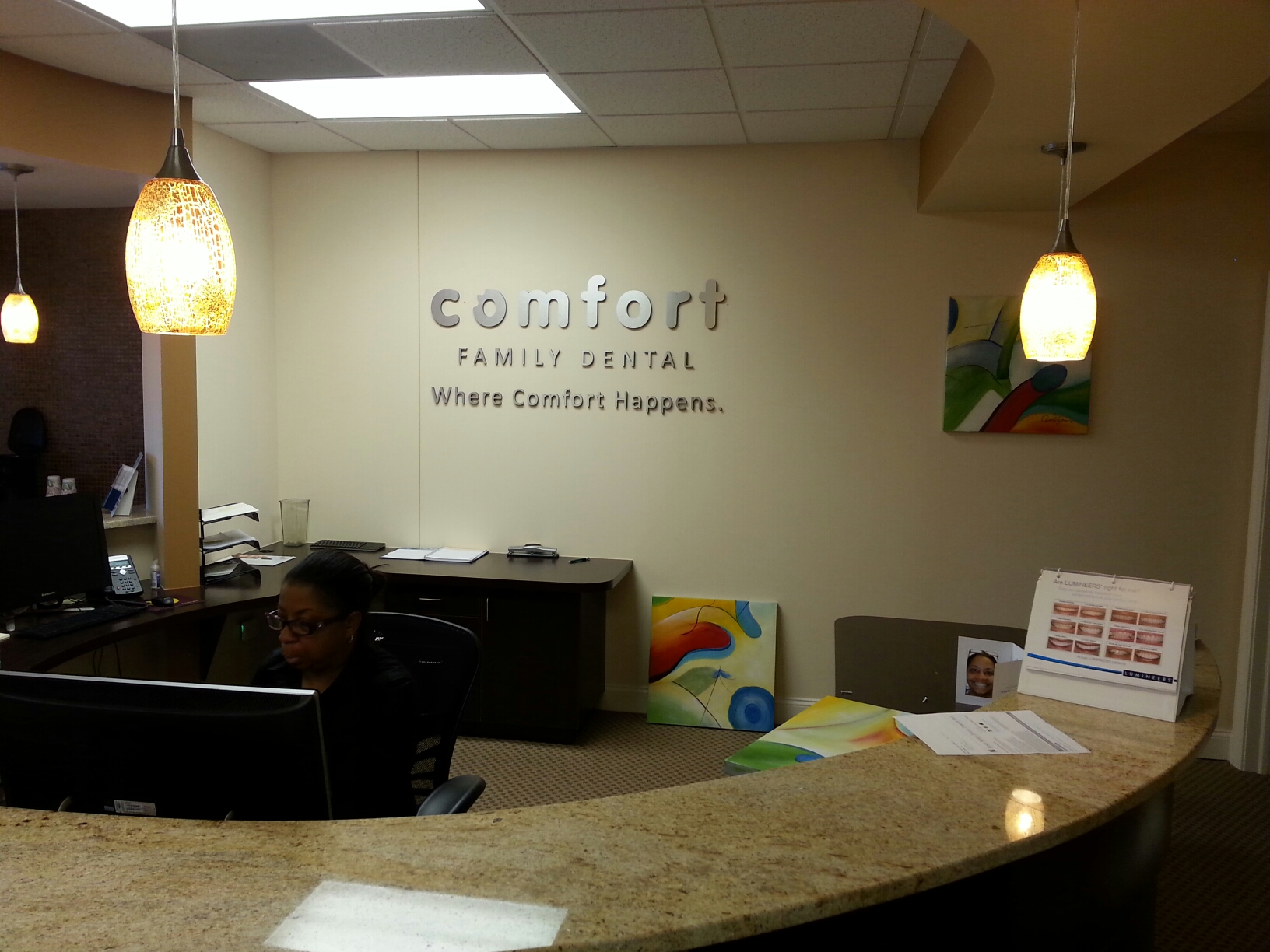 Comfort Family Dental Dim Letters (2) ...
