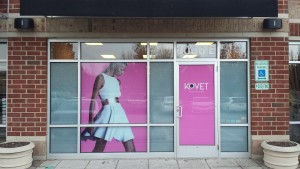 Kovet Digital Print 2nd Surface Window Vinyl